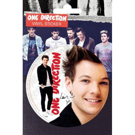 Pegatina Vinilo One direction Louis