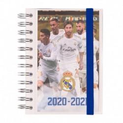 Agenda Escolar 2020/2021 Diaria Real Madrid