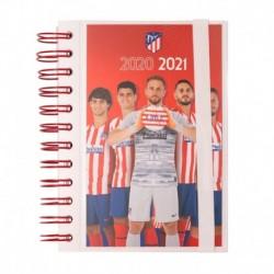 Agenda Escolar 2020/2021 Diaria Atletico De Madrid