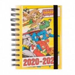 Agenda Escolar 2020/2021 Diaria Dc Comics