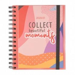 Agenda Escolar 2020/2021 Semanal Amelie Colección Tropical