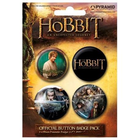 Pack Chapas The Hobbit