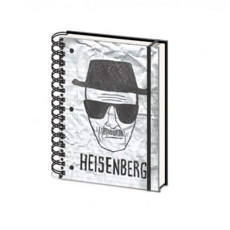 Cuaderno Tapa dura A5 Breaking Bad Heisenberg