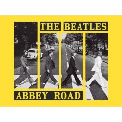 Print 30X40 Cm Abbey Road Crosswalk