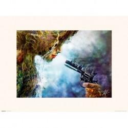 Print 30X40 Cm Mario Sanchez Nevado Betrayal