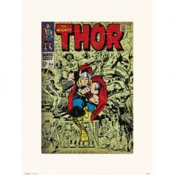 Print 30X40 Cm Marvel Thor 154