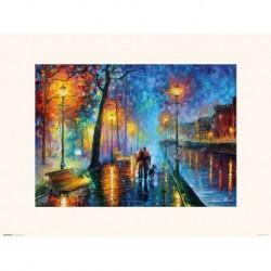 Print 30X40 Cm Romantic Couple Leonid Afrémov