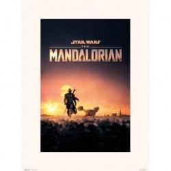 Print 30X40 Cm The Mandalorian