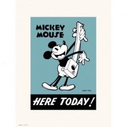 Print 30X40 Cm Disney Mickey 90