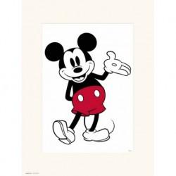 Print 30X40 Cm Disney Mickey Classic