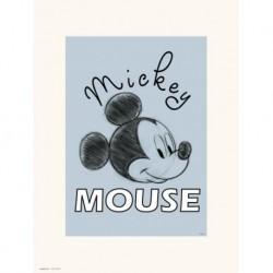 Print 30X40 Cm Disney Mickey Mouse