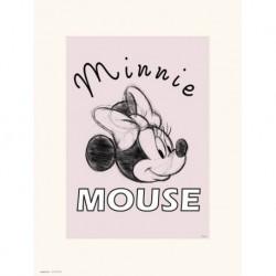 Print 30X40 Cm Disney Minnie Mouse