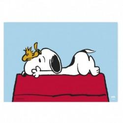 Vade de Escritorio Escolar Snoopy Doghouse