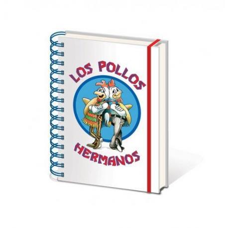 Cuaderno Tapa Dura A5 Breaking Bad Los Pollos