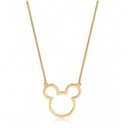Colgante Disney Mickey Mouse Borde En Oro 9K