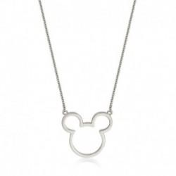 Colgante Disney Minnie Mouse Borde En Oro Blanco