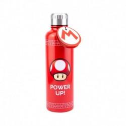Botella Metalica Super Mario Power Up