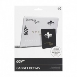 Pegatinas Gadget James Bond
