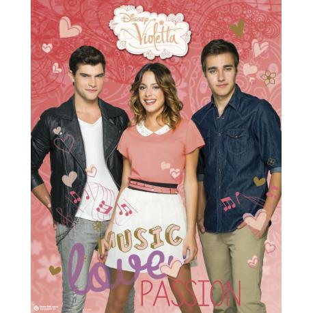 Mini Poster Violetta