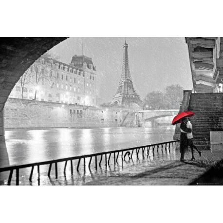 Poster Torre Eiffel El Beso