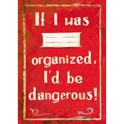 Libreta If I Was Organized...