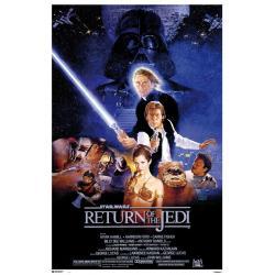 Poster Star Wars Episodio VI El Retorno del Jedi