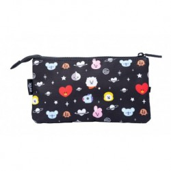 Estuche Triple Bt21 Cool Collection