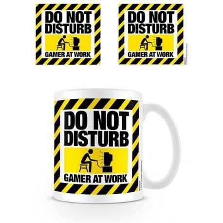 Taza Do Not Disturb (Gamer at Work)