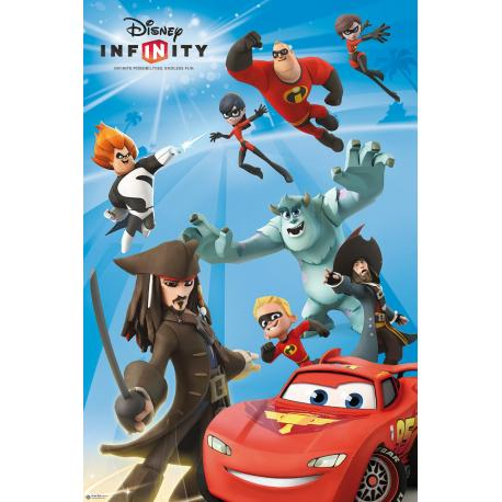 Poster Infinity Game Disney