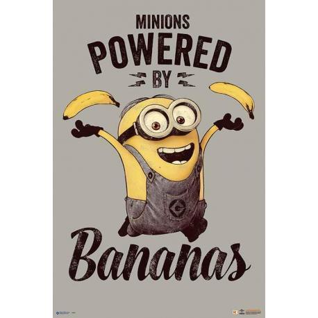 Poster Minions-Bananas