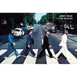 Poster Grande Beatles Abbey Road