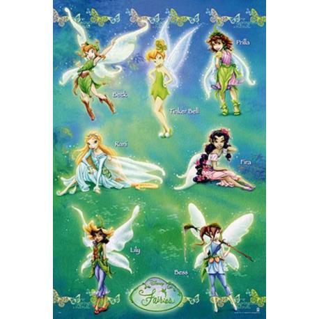 Poster Disney Hadas