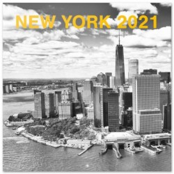 Calendario 2021 30X30 New York B/W