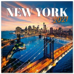 Calendario 2021 30X30 New York Color
