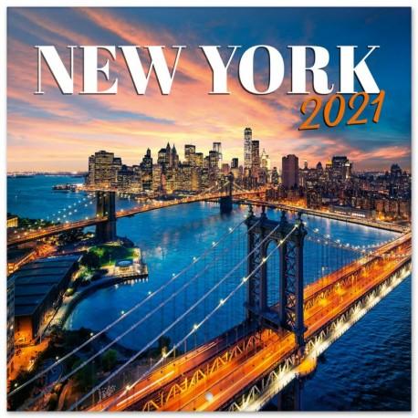 Calendario 2021 30X30 New York Color
