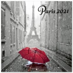 Calendario 2021 30X30 Paris B/W