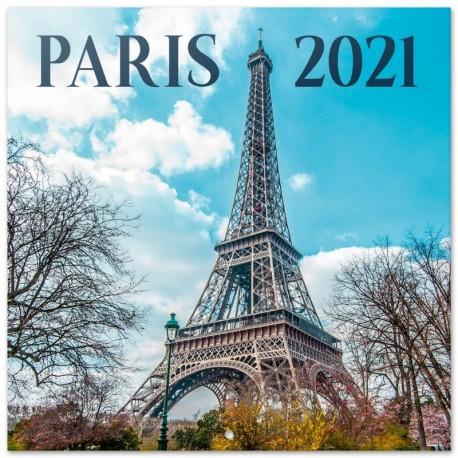 Calendario 2021 30X30 Paris Color