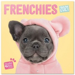 Calendario 2021 30X30 Studio Pets French Bulldog