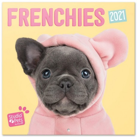 Calendario 2021 30X30 Studio Pets French Bulldog