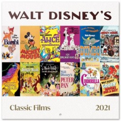 Calendario 2021 30X30 Disney Classic Films