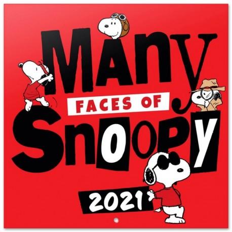 Calendario 2021 30X30 Snoopy