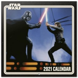 Calendario 2021 30X30 Star Wars Classic