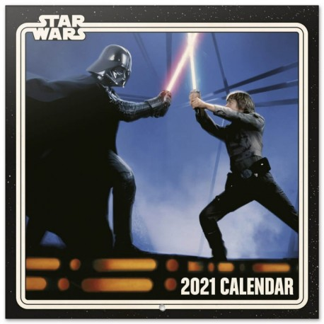 Calendario 2021 30X30 Star Wars Classic