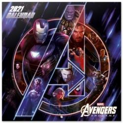 Calendario 2021 30X30 Marvel Avengers