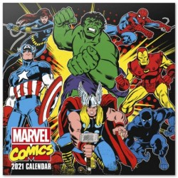 Calendario 2021 30X30 Marvel Comics
