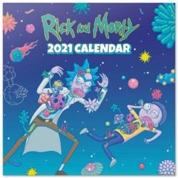 Calendario 2021 30X30 Rick & Morty