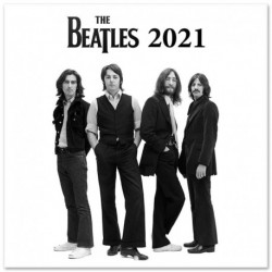 Calendario 2021 30X30 The Beatles