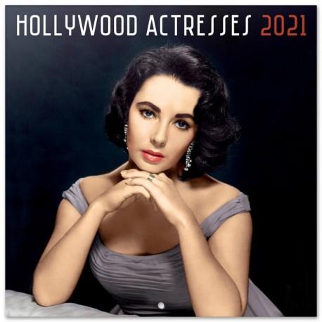 Calendario 2021 30X30 Hollywood Actresses