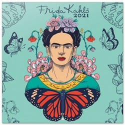 Calendario 2021 30X30 Frida Kahlo