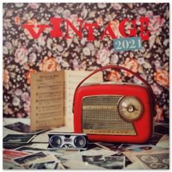Calendario 2021 30X30 Vintage